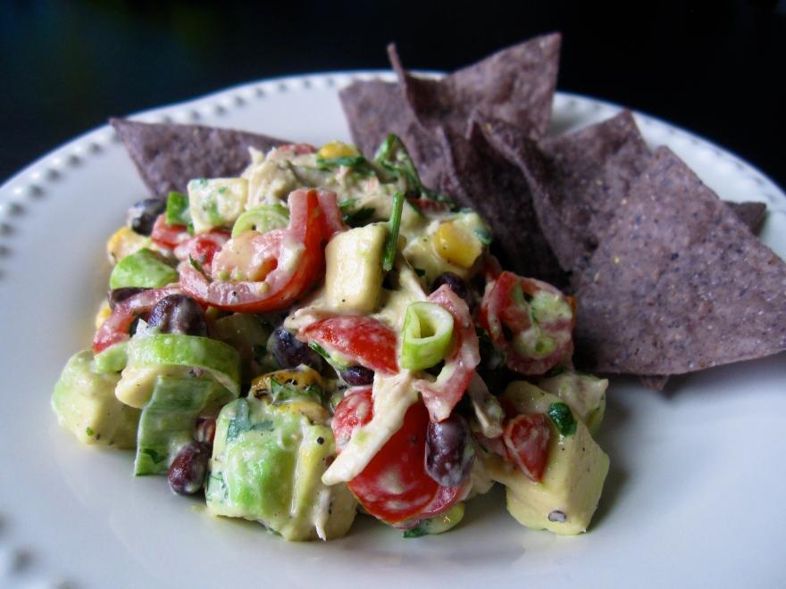 avocado chicken salad (gingerandjam.com)